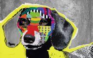 Funny Dog Art 26 Cool Wallpaper