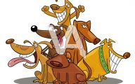 Funny Dog Art 9 Cool Hd Wallpaper