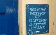 Funny Door Signs 14 Free Wallpaper
