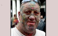Funny Face Tattoos 12 Free Hd Wallpaper