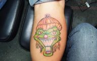 Funny Face Tattoos 2 Wide Wallpaper