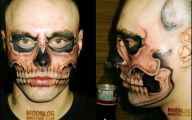 Funny Face Tattoos 21 Desktop Wallpaper