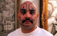 Funny Face Tattoos 23 Cool Wallpaper