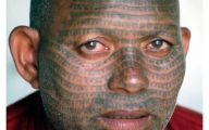 Funny Face Tattoos 30 Wide Wallpaper