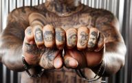Funny Knuckle Tattoo Ideas 1 Background Wallpaper