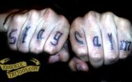 Funny Knuckle Tattoos 28 Cool Wallpaper