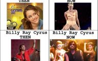 Funny Miley Cyrus Celebrity 15 Background Wallpaper