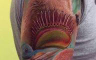Funny Monkey Tattoo 2 Widescreen Wallpaper