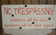 Funny No Trespassing Signs 12 Free Hd Wallpaper