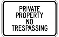Funny No Trespassing Signs 17 Desktop Wallpaper