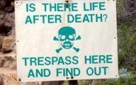 Funny No Trespassing Signs 23 Desktop Wallpaper
