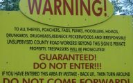 Funny No Trespassing Signs 34 High Resolution Wallpaper