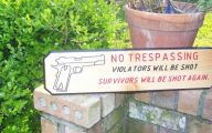 Funny No Trespassing Signs 4 Cool Wallpaper