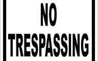 Funny No Trespassing Signs 6 Desktop Background