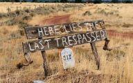 Funny No Trespassing Signs 7 Hd Wallpaper