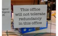 Funny Office Signs 4 Wide Wallpaper