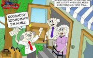 Funny Old Cartoons 12 Background Wallpaper