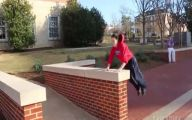 Funny Parkour Fails 6 Background Wallpaper