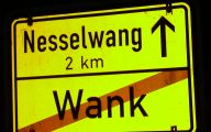 Funny Road Sign 47 Background Wallpaper
