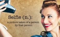Funny Sayings About Selfies 2 Wide Wallpaper