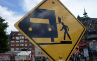 Funny Traffic Signs 23 Desktop Background