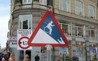 Funny Traffic Signs 24 Hd Wallpaper