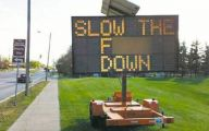 Funny Traffic Signs 40 Background Wallpaper