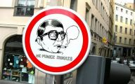 Funny Traffic Signs 41 Background Wallpaper
