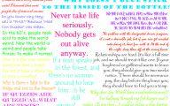 Funny Weird Sayings 5 Widescreen Wallpaper