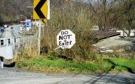 Redneck Funny Signs 42 Widescreen Wallpaper
