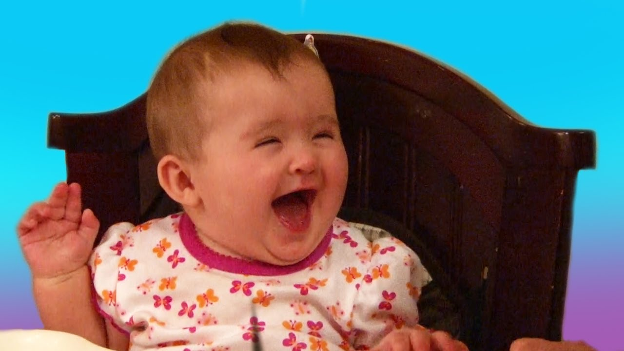 funny babies laughing 3 widescreen wallpaper - funnypicture