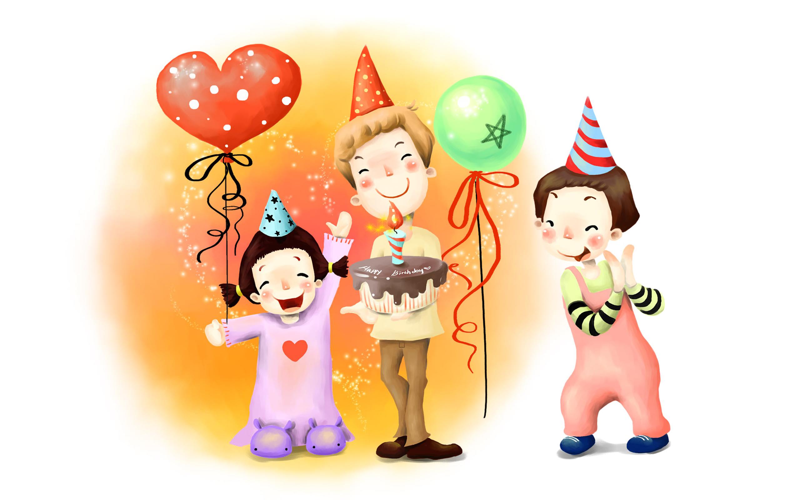 Funny Cartoons Birthday 21 Desktop Wallpaper