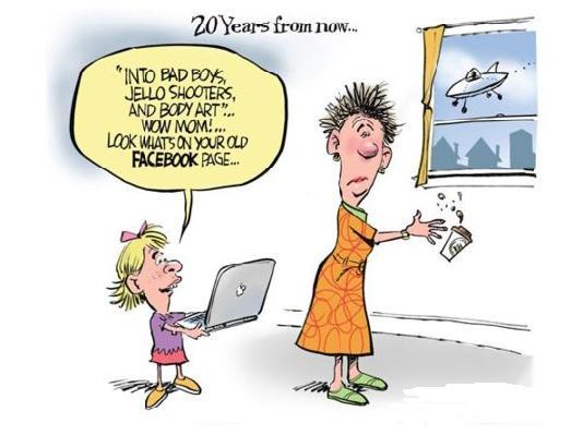 Image result for free to use cartoon of facebook