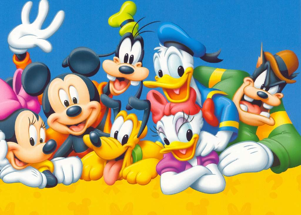 Popular Characters From Animation And Cartoons Wallpaper Images
