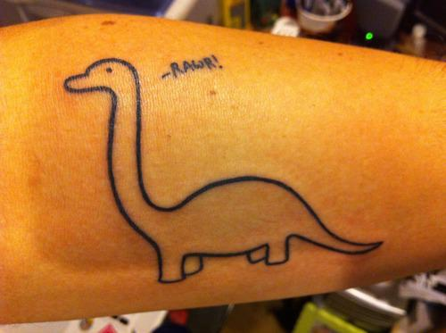 Funny Dinosaur Tattoos 15 Desktop Wallpaper