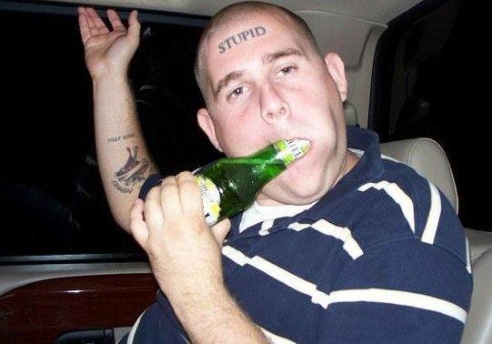 Funny Dumb Tattoos 18 Desktop Background