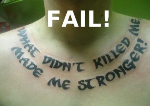 Funny Dumb Tattoos 22 Cool Hd Wallpaper