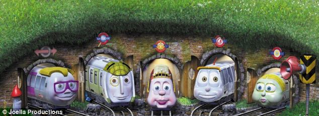 Funny Faces Childrens Entertainment 15 Desktop Background