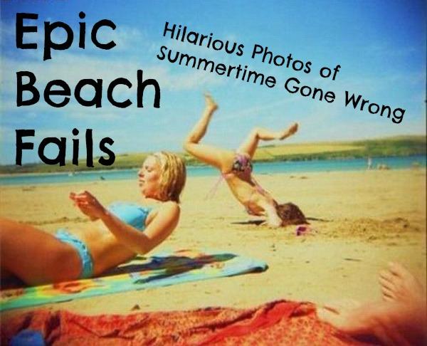Funny Fails At The Beach 12 Desktop Wallpaper