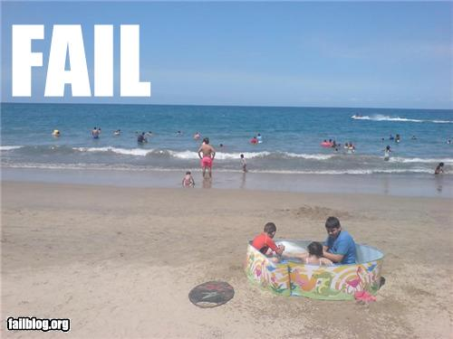 Funny Fails At The Beach 5 Widescreen Wallpaper