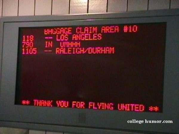 Funny Signs At Airport 11 Widescreen Wallpaper