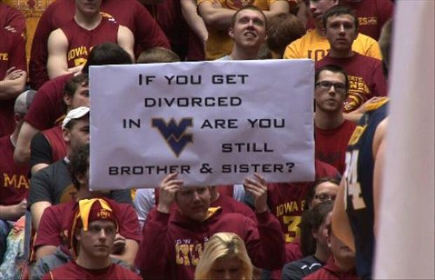 Funny Signs At Sporting Events 12 Background Wallpaper
