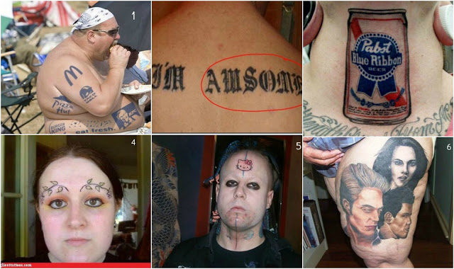 Funny Tattoos Gone Wrong 6 Desktop Background
