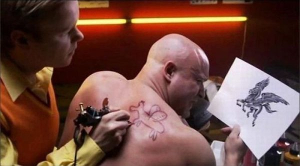 Funny Tattoos Gone Wrong 9 Widescreen Wallpaper