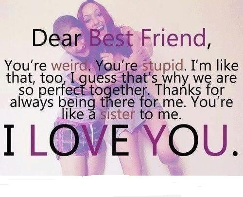Funny Weird Best Friend Quotes 37 Cool Hd Wallpaper - Funnypicture.org