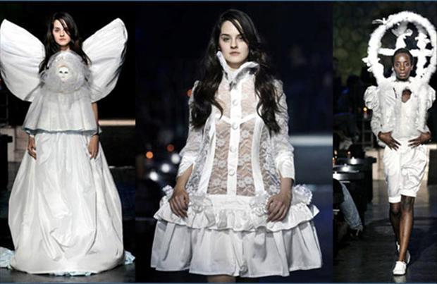 Funny Weird Dress 4 Wide Wallpaper