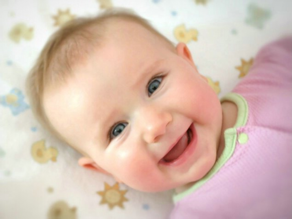 Babies Laughing 27 Wide Wallpaper