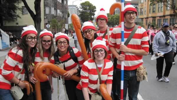 Funny Group Costume Themes 2 Hd Wallpaper