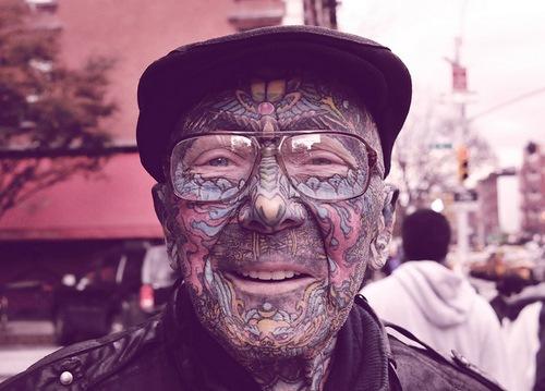 Funny Guy Tattoos 1 Hd Wallpaper