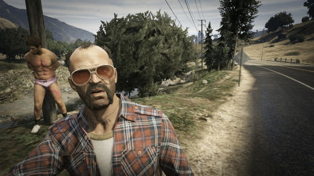 Gta 5 Selfies Funny 21 High Resolution Wallpaper Funnypictureorg